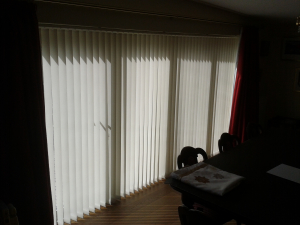 Bi-Fold Vertical Blind