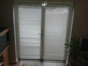 Doorway Venetian Blind